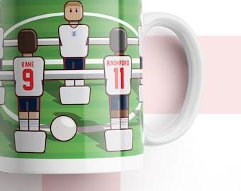 Home Nations foosball mug ENGLAND EDITION