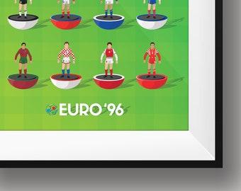 Euro 96 Subbuteo Print