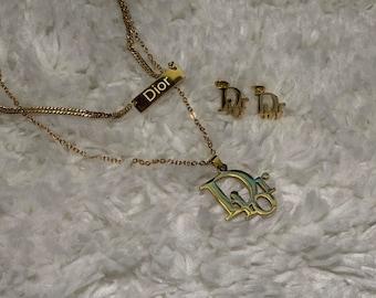 Dior jewelry set