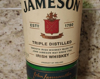 Upcycled Jameson Cold Brew Candle
