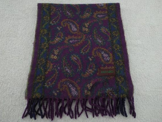 Kenzo Scarf Muffler Neckwear Multicolor scarf Luxu