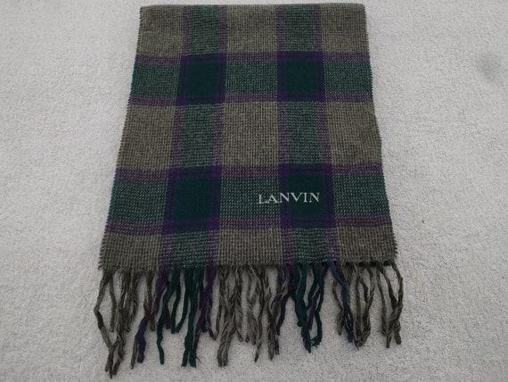Lanvin Scarf Muffler Neckwear Multicolor scarf Lux