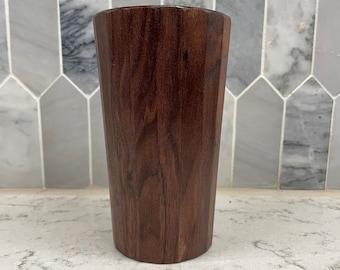 Handmade Wooden Pint Glass