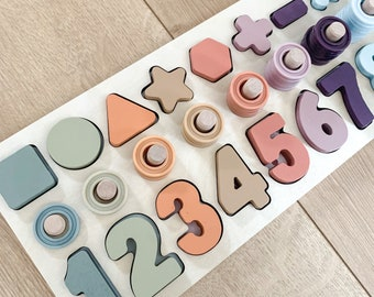 Educational number board| educational counting board| learning toys | number board | counting | learning | teaching aid