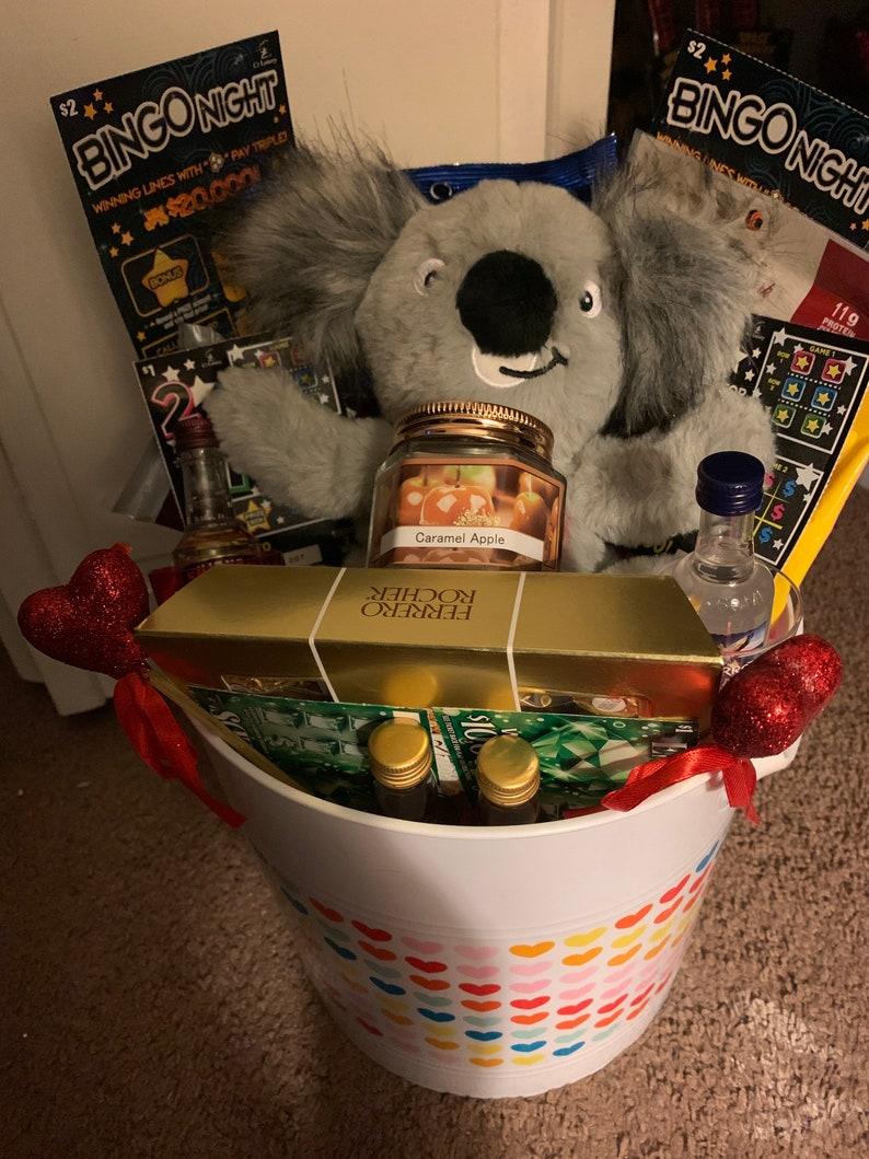Adult birthday buckets