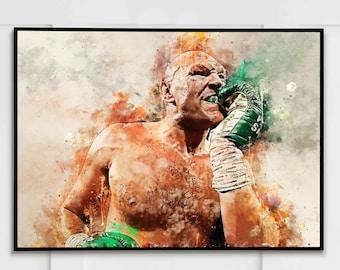 Tyson Fury - Wall Art Print | Canvas | Photo Block