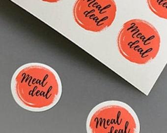 Custom MATTE Personalised Round Business Logo | Business Labels | Personalised Stickers | Postage Labels | Order Sticks (Paper)