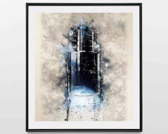 Midnight Blue - Wall Art Print | Canvas | Photo Block