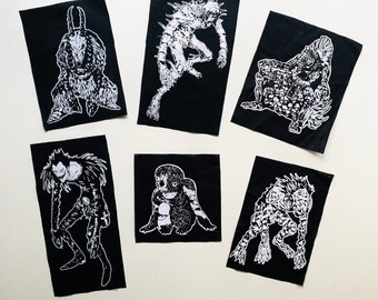 SHINIGAMI Patches (Set of 6)