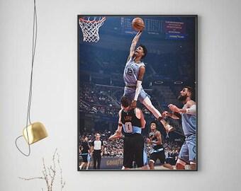 Ja Morant Poster, Basketball Poster