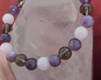 Grief and Loss Support - Natural Stone Bracelet