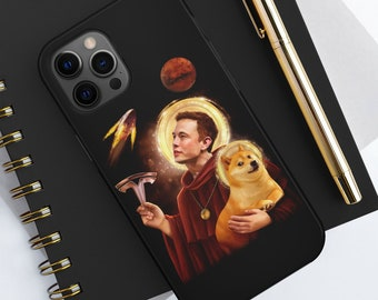 dogecoin iphone12 phone case ElonDoge