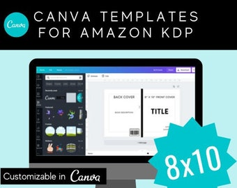 8x10 Canva Template for KDP Children's Paperback Book