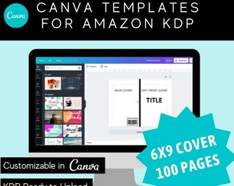 6x9 Canva Journal Template for KDP