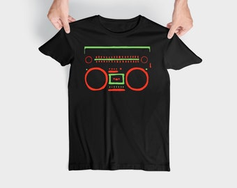 A Tribe Called Quest Boombox 90s Gift Birthday T Shirt