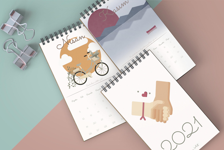 Cotton Cloud 2021 Kalender / Takvim | Etsy