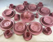 1990 39 s Rose Ceramic Genuine Fiesta Wear, Sold by the dish-type, or by singular accessory dishes