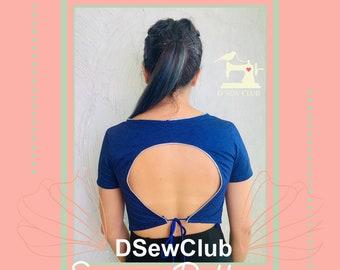 Circle-Cut-Back-Blouse-Pattern-SB06