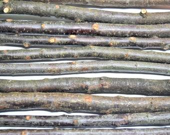 3x blackthorn branches, magic wand stick, a bundle of 3x blackthorn sticks, real blackthorn wood, craft decor, magical tree, home decor