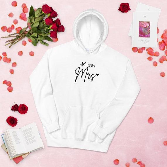 Miss to Mrs! Hoodie Funny Hoodie - Funny bride sweater, Bunnyhug, Funny wedding hoodie, Shotgun Wedding