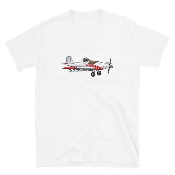 Crop Dusting, Crop Duster, aerial application, aviation, airplane, farmer, farming, pilot, Thrush, Short-Sleeve Unisex T-Shirt