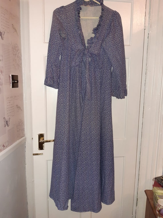 Vintage 1970's Laura Ashley gown