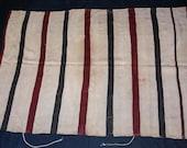Berber wool handira M 39 Tougha stripes vintage