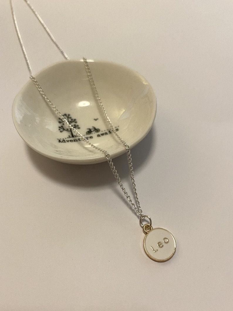 Leo Zodiac Starsign Necklace