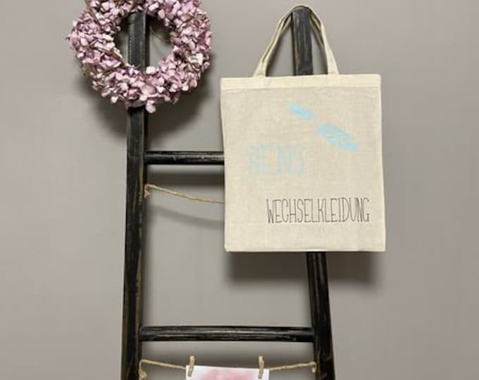 Bag for changeable clothing springs