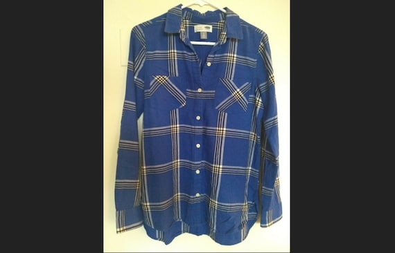 Vintage blue navy shirt