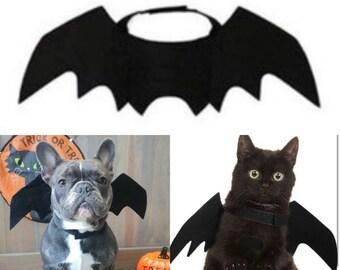 Halloween Bat Wings | Pet Halloween Costume | Sml Dog Prop | Bat Wings  | Halloween Accessory | Pet Outfit | Halloween Party | Cat Halloween