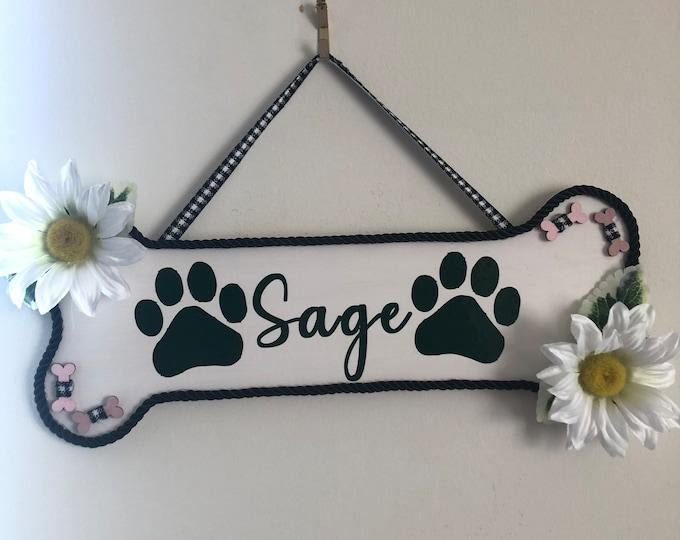 Dog Bone Pet Signs