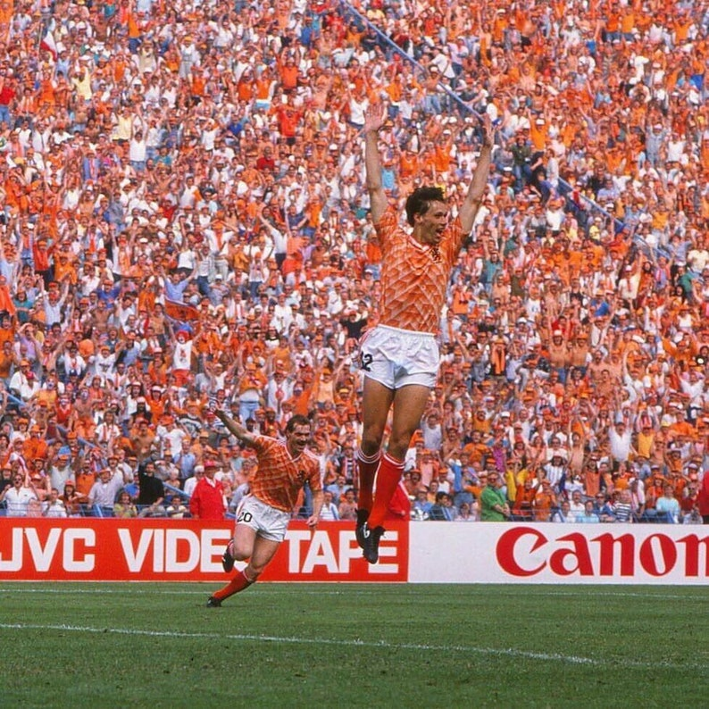 Holland Netherlands 1988 Home Rare Football Soccer Classic Retro Vintage Jersey Shirt