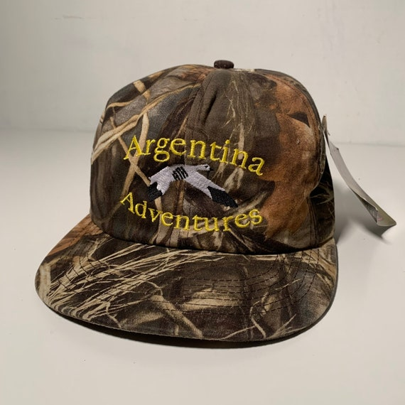 Vintage 90/'s Argentina Country Strapback Hat