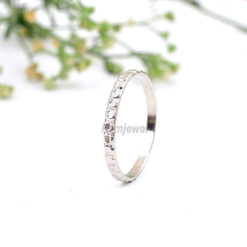 Sterling Silver Ring Stacking Rings Dainty Ring Rings Solid Silver Ring Silver Ring Thin Stack Ring Thin Ring Stackable Ring