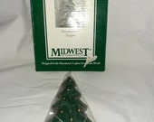 Midwest Of Cannon Falls Christmas Tree Cast Iron Door Knocker Topper