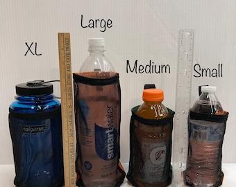 Water Bottle Holder for a Backpack