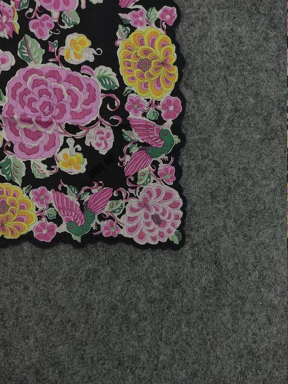 Vintage Anna Sui Handkerchief Neckerchief Headban… - image 3