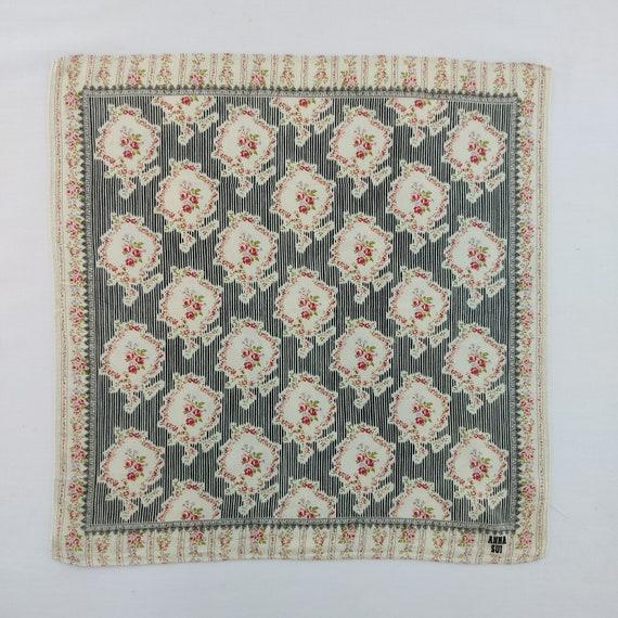 Vintage Anna Sui Handkerchief Neckerchief Headban… - image 2