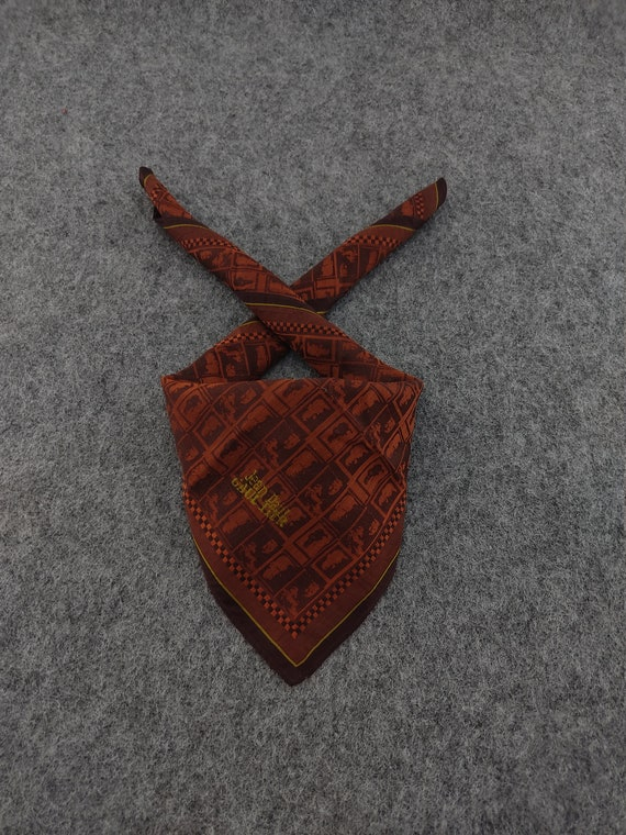 JEAN PAUL GAULTIER Handkerchief Authentic Hair Silk Bandana Luxury Pocket Square Accessories Face Mask Neckwear Summer Headband