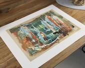 Chance oder Dystopie, FINE ART PRINT - von Stefan Eisele