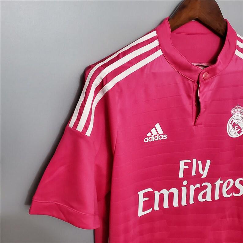 Real Madrid 2014-15 Away Retro football kit jersey