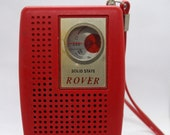 Rover Solid State Transistor Radio - 1960s - The most beautiful thing you will ever own
