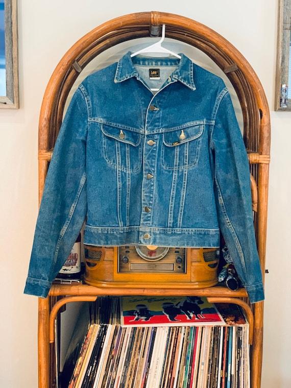 Vintage Lee Jean Jacket - Vintage Lee Denim Jacket