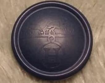 """Hermes Resin button """"Hortensia"""""""