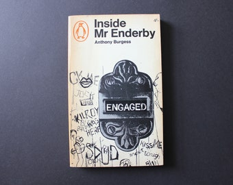 Vintage Book - Anthony Burgess - Inside Mr Enderby - 1966 - Rare Books and Bookish Gifts by Unperson Press