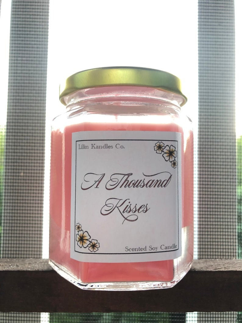 Roses Mother/'s Day Essential Oil 6 Oz Wedding Spring Jasmine Roses and Jasmine Soy Candles Aromatherapy Gift Ideas  