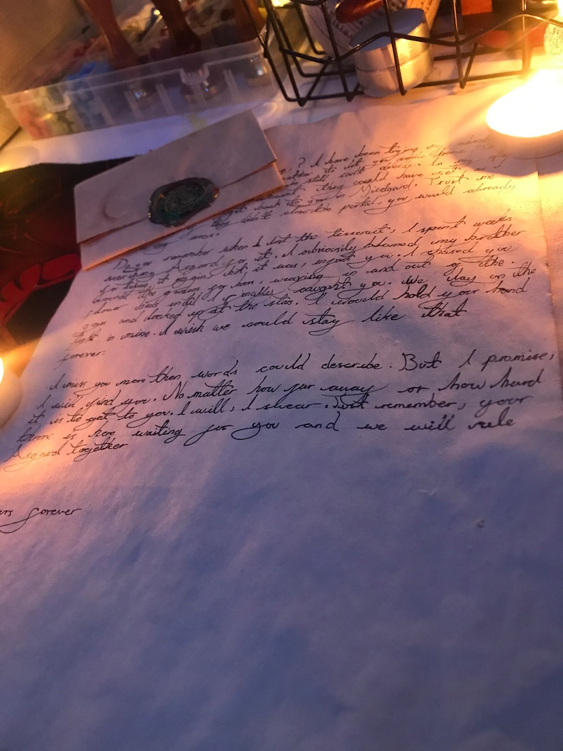 Letters from your comfort character