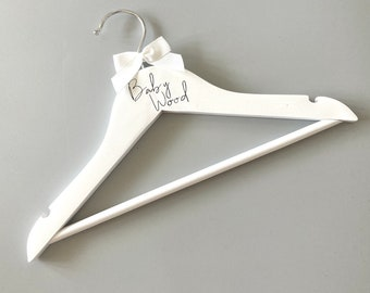 Baby Shower Gift,Toddler Fashion,Personalized Hanger Baby Hanger Baby Name Hanger Children/'s Hanger Toddler Accessories,