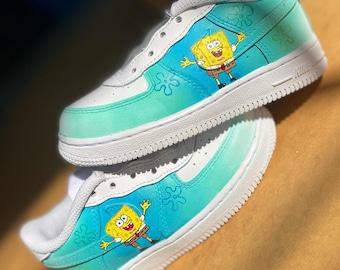 air force 1 spongebob